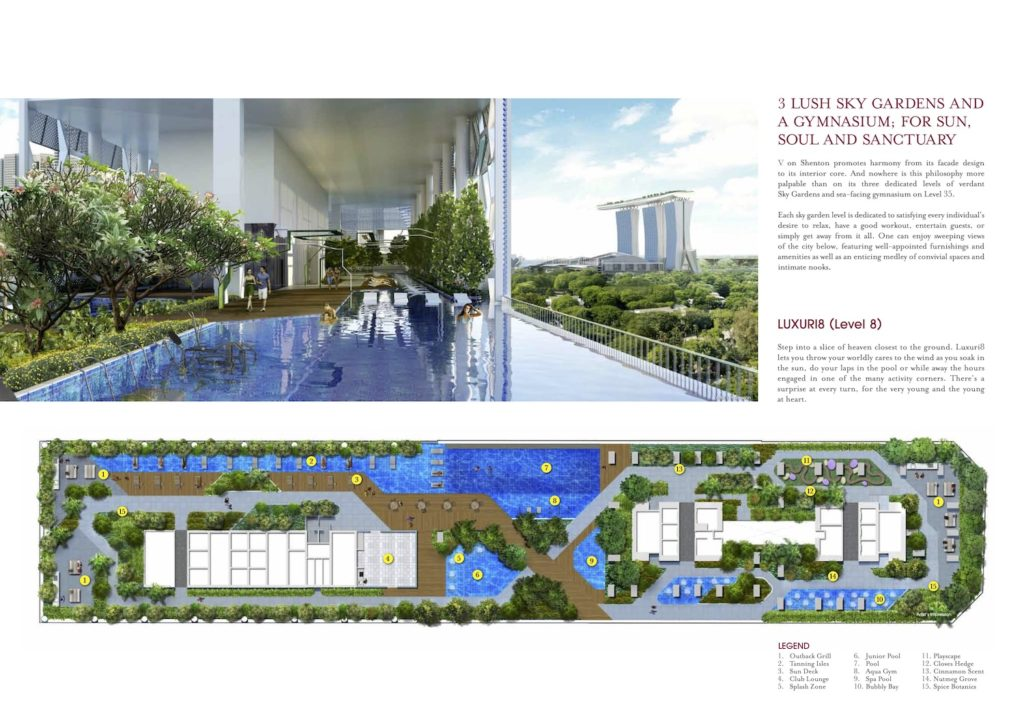 V on Shenton Site Plan 1 Singapore
